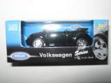 1/60 vw new beetle convertible noir welly