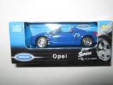 1/60 voiture opel speedster 2001 welly