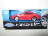 1/60 porsche 911 carrera (995) rouge welly